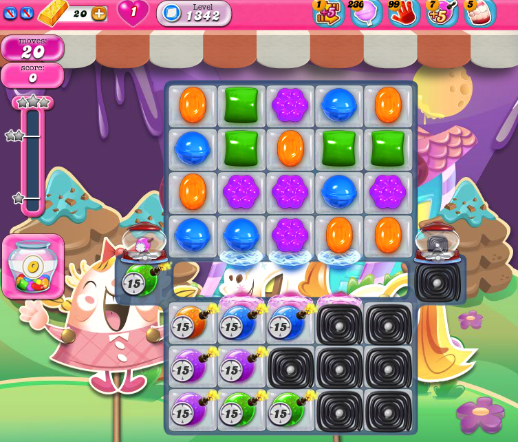 Candy Crush Saga 1342