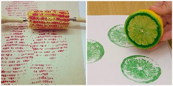 Deshilachado Manualidades Veraniegas Para Ninos 3 Summer Crafts - Manualidades-con-frutas-para-nios