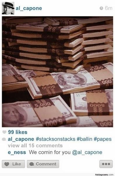 Аль Капоне в инстаграм