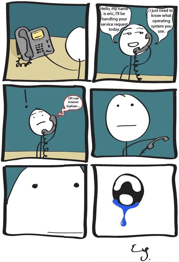 A veces odio trabajar de informático