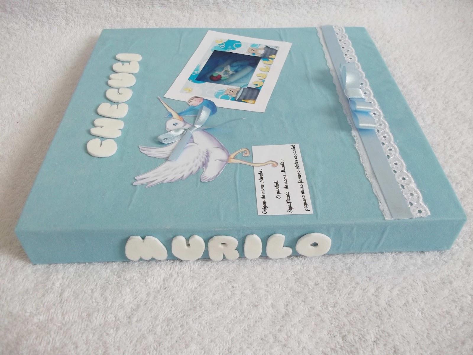 Ateli emporio art s album de fotos personalizado beb - Album para guardar fotos ...