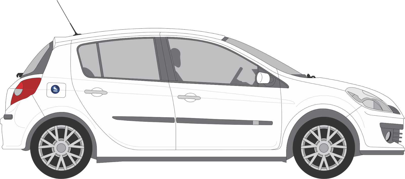 Free vector about car & Truck vector graphics