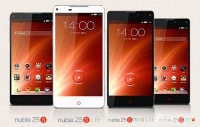ZTE Umumkan Nubia Z5S dan Nubia Z5S Mini