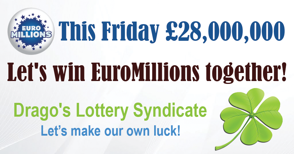 let's win this friday's EuroMillions jackpot together