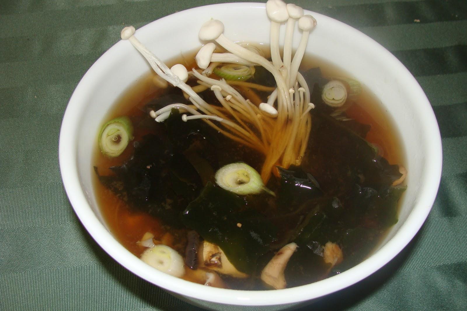 Lili popotte soupe miso - Soupe miso ingredient ...