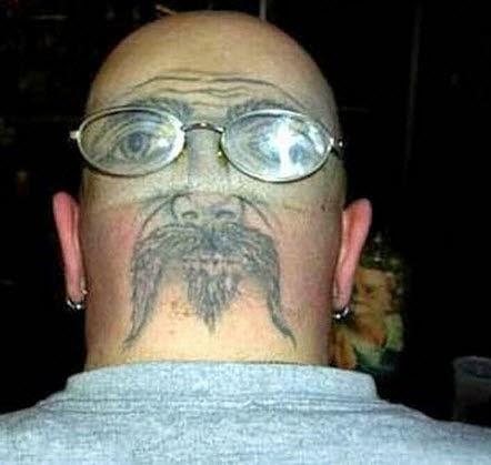 Самые ужасные и глупые татуировки Интересное  - самые дебильные татуировки