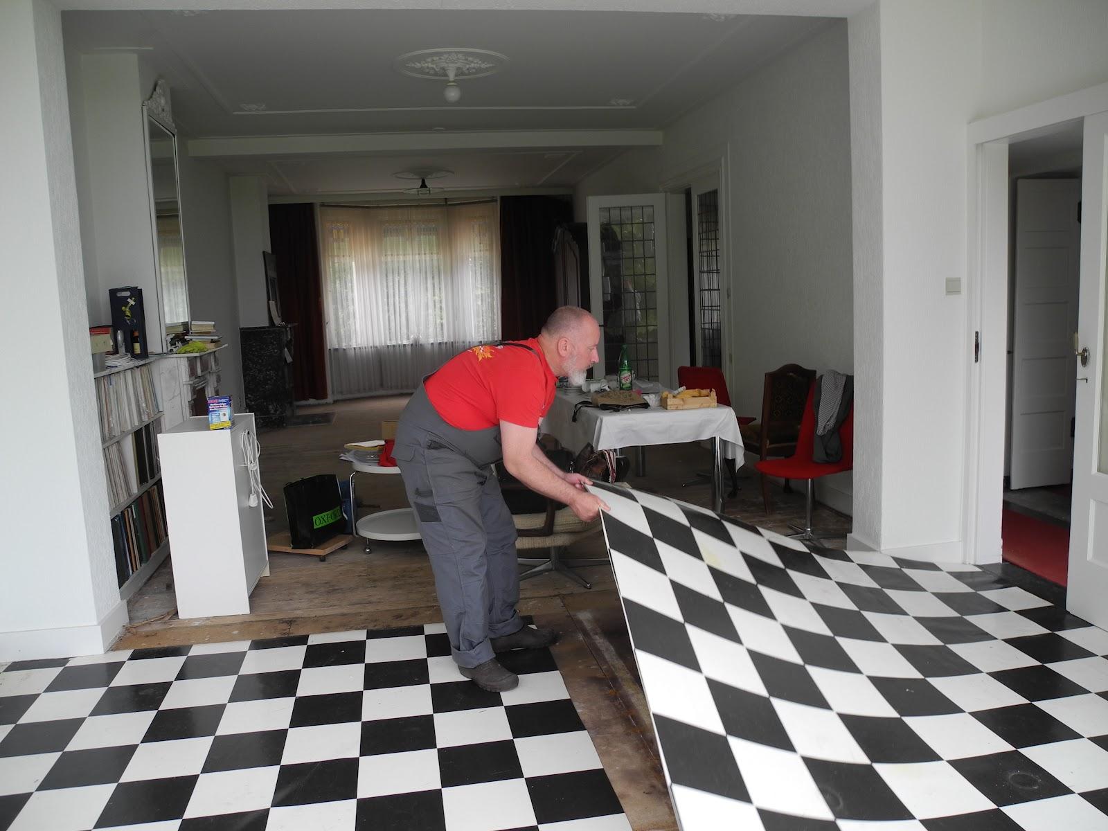 Zwart Wit Vinyl : Witte vloer vinyl elegant zwart wit zeil keuken u atumrecom with