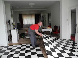 Wit Zeil Vloer : Vloerbedekking eruit lageweg ossenisse