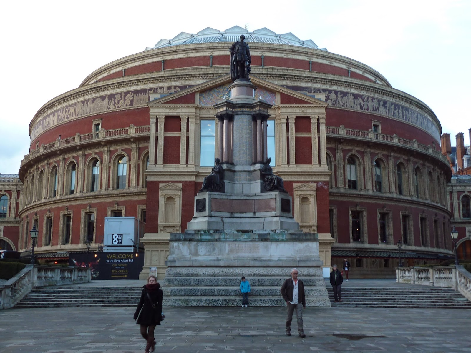 Form 7 concert halls theatres for Door 12 royal albert hall