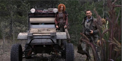Defiance recaps Irisa Stephanie Leonidas Nolan Grant Bowler roller jeep screencaps pictures battle