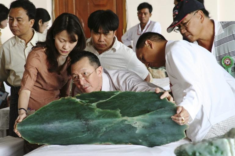 Kerry B. Collison Asia News: Myanmar and the Stone of Heaven