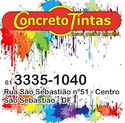 CONCRETO TINTAS