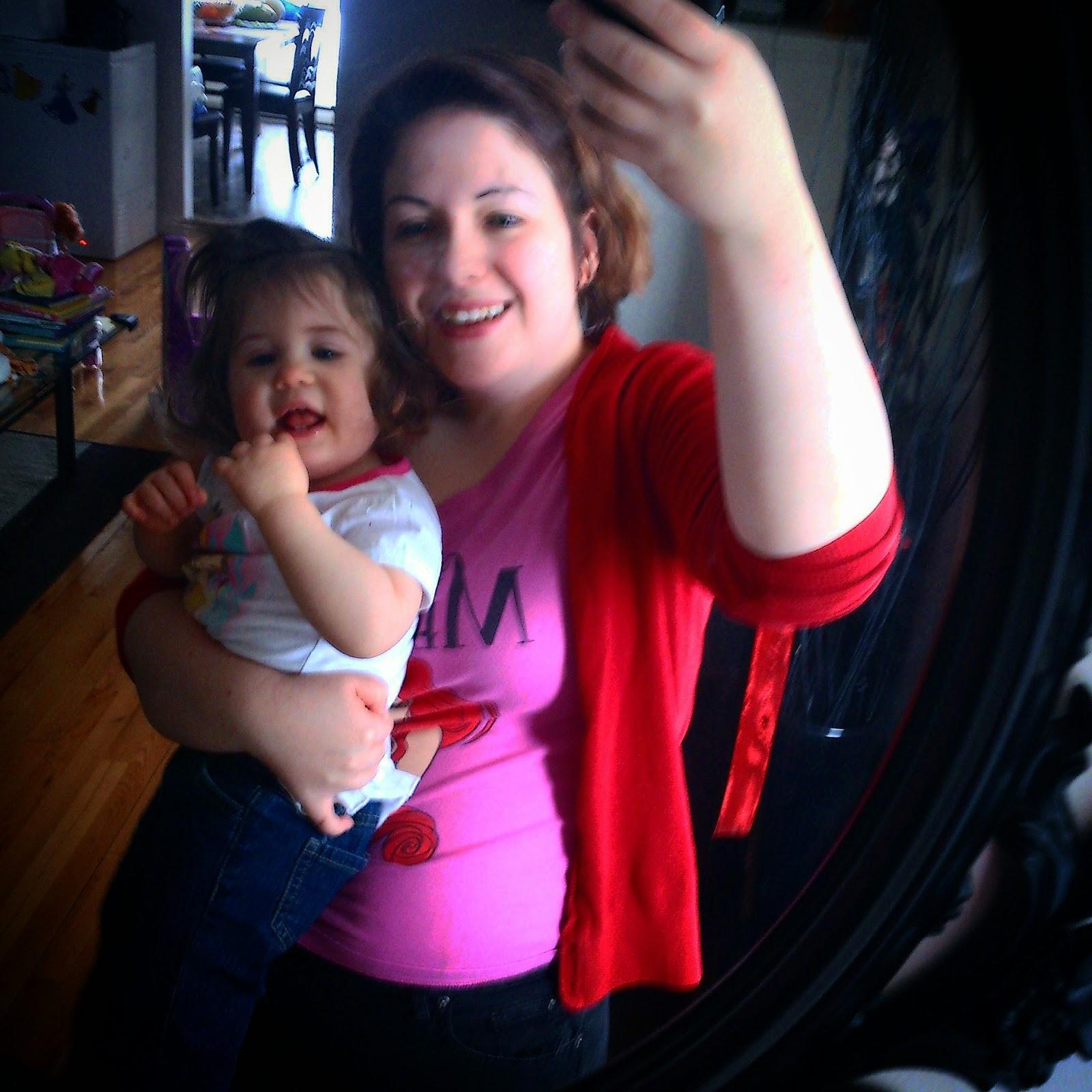 Ma fille choisit à l'occasion mes vêtements et ça donne ceci #ToddlerStylist