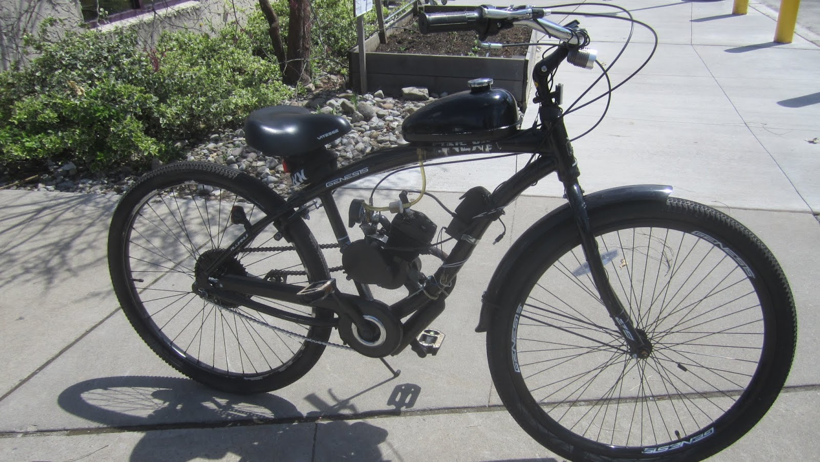 Bicycle Motorcycle Hybrid   PrincetonPrimer