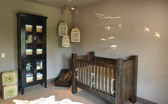 Mummy's Little Dreams: Bird Theme Nursery
