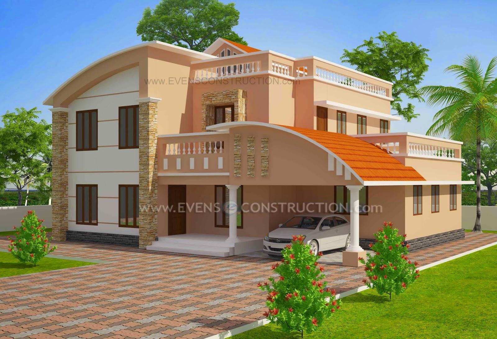 Beautiful Kerala House Plan Garden Decoration Ideas Homemade