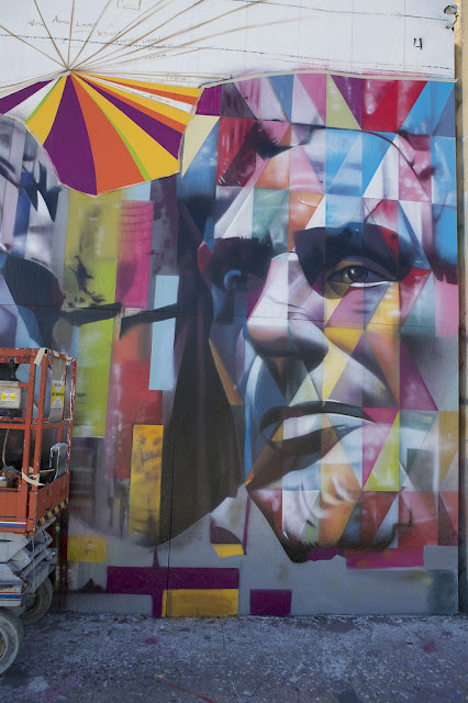 Eduardo kobra new mural in los angeles streetartnews for Mural eduardo kobra