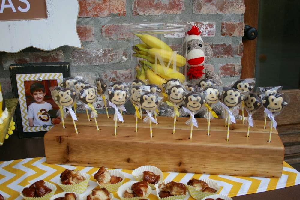 pirulito festa infantil bh - tema macaco