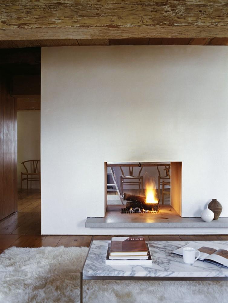 Decora tu casa fotos dise o y decoraci n de dormitorios for Open fireplace ideas