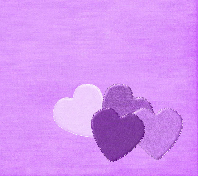 purple hearts blogger background
