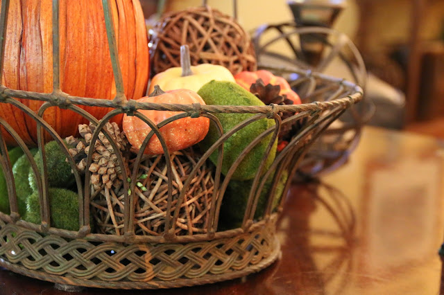 basket of fall filler