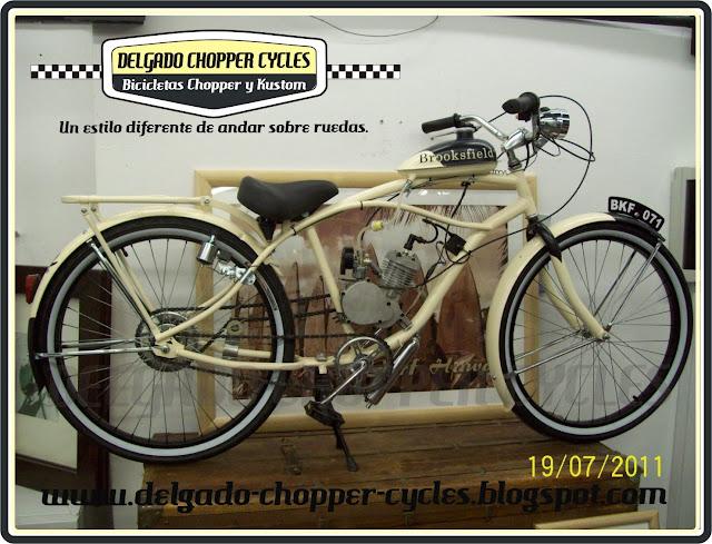 Bicicleta Vintage con motor DCC para Brooksfield Recoleta