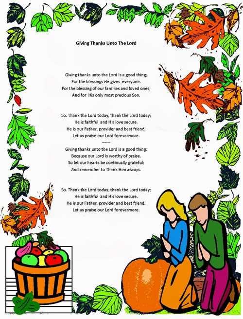 Best Thanksgiving Blessings Poems