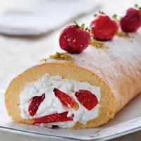 Çilekli Rulo Pasta Tarifi Tarifi Çilekli Pasta Tarifleri