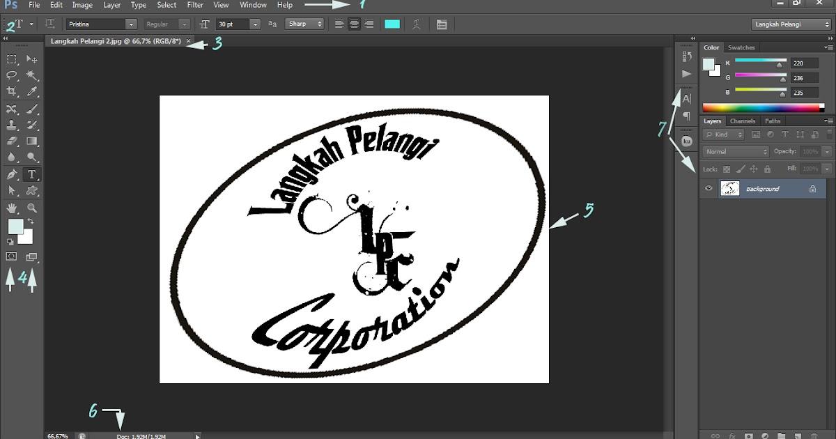 Langkah Pelangi: Tutorial Adobe Photoshop CS6