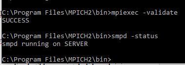 Install MPICH2 Windows 7