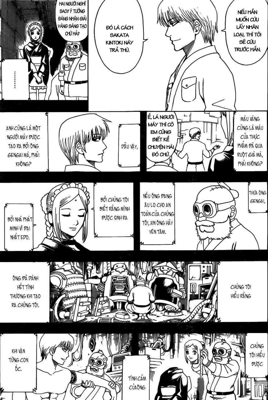 Gintama Chap 610 - Trang 8