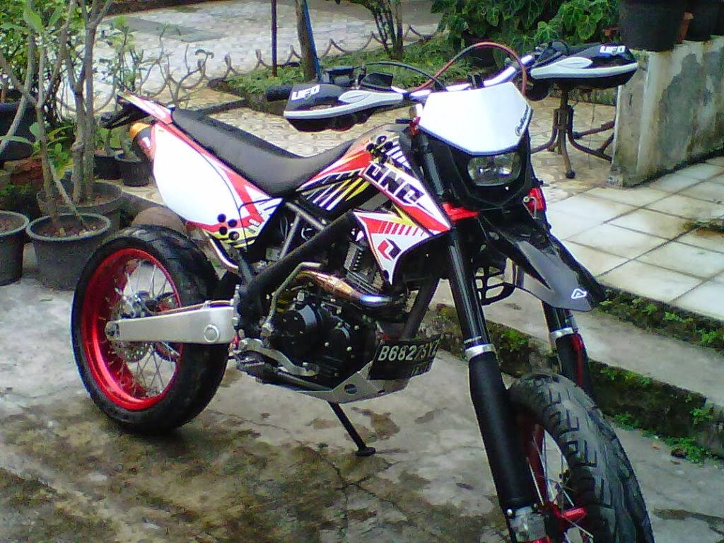 Modifikasi Motor Trail Kawasaki KLX 150 Terbaru