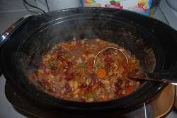 Low Cal, Low fat, Slow Cooker Chili....mmmm