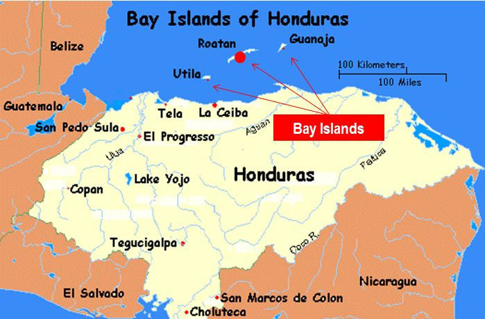 Where is honduras roatan and the bay islands gumiabroncs Gallery