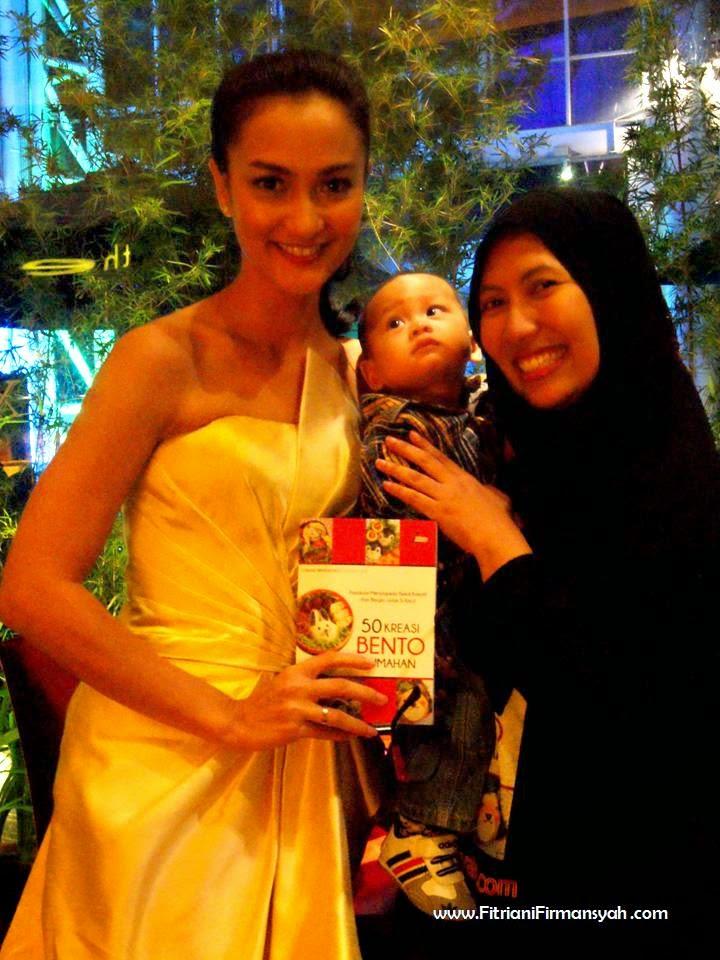 With Atiqah Hasiholan