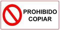 Prohibida la copia