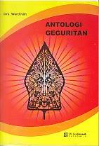 toko buku rahma: buku ANTOLOGI GEGURITAN, pengarang wardinah, penerbit cendrawasih