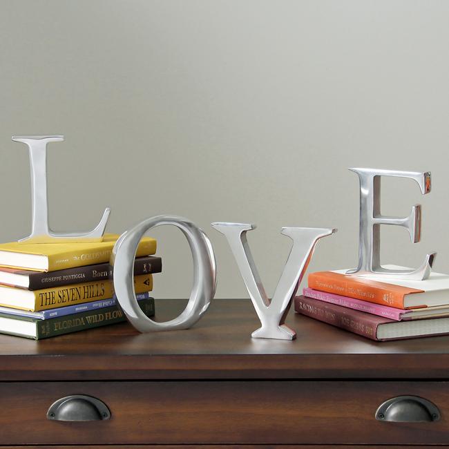 Revista crear ambientes decoraci n con letras - Letras home decoracion ...