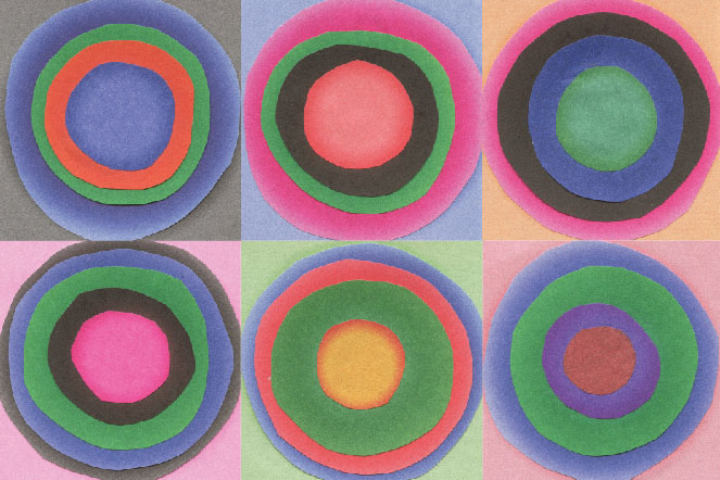 Kandinsky Circles Called Six Layered Circles Kandinsky