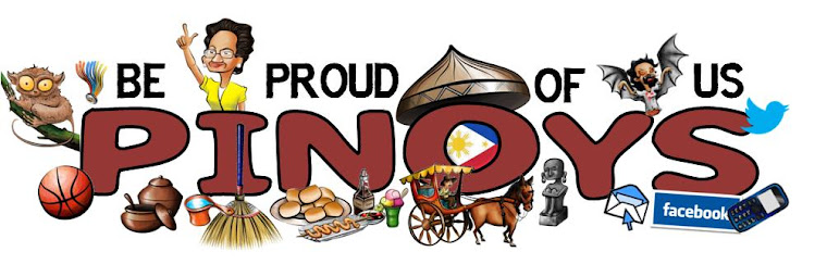 Be Proud Of Us Pinoys