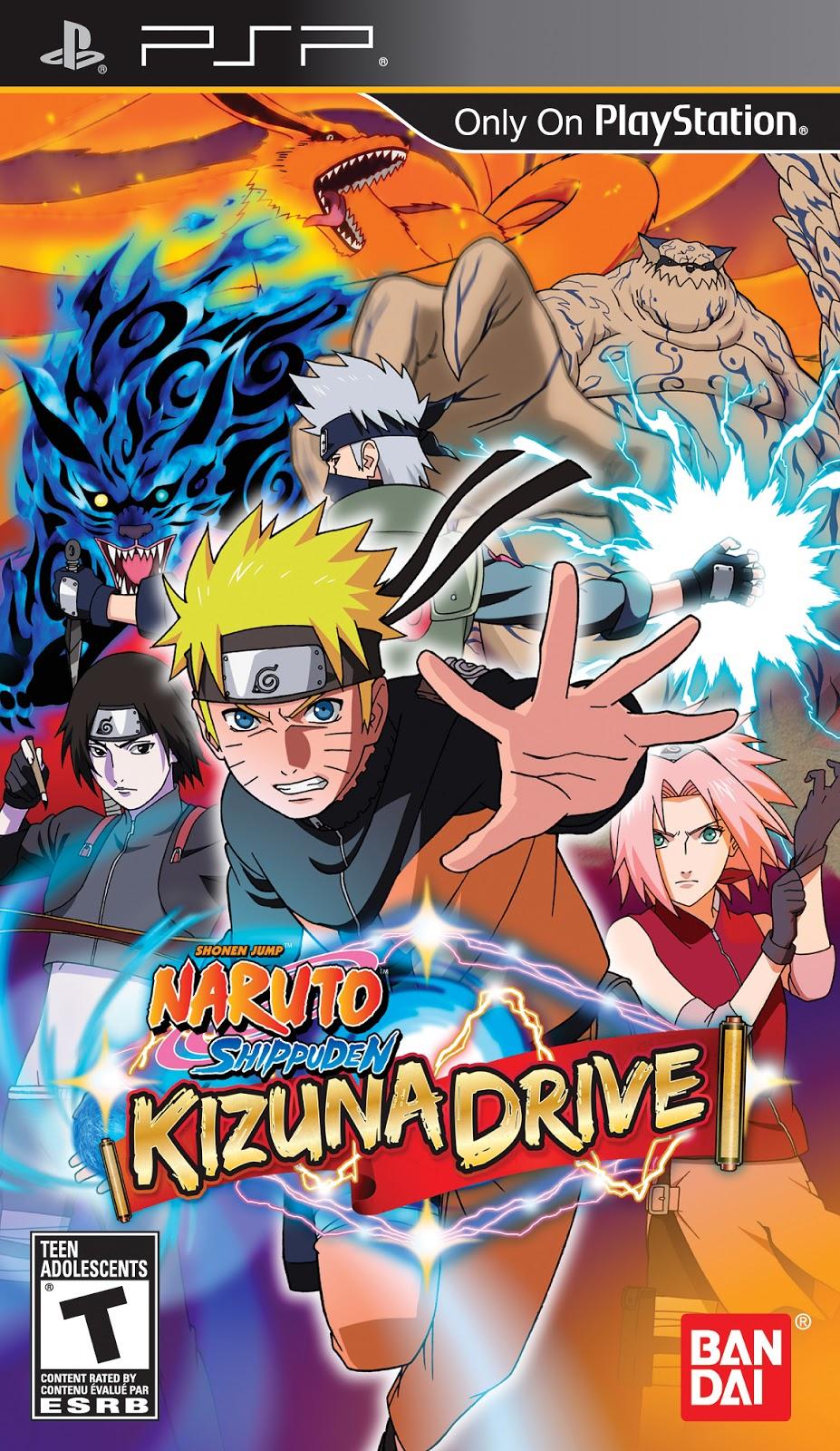 Naruto Shippuden - Kizuna Drive (USA) ISO