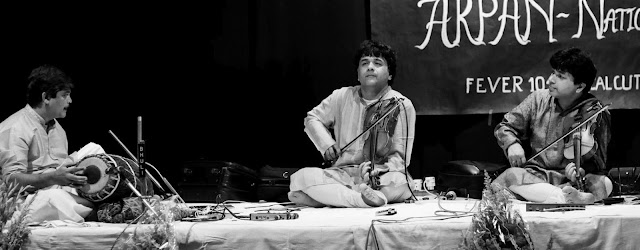 Ganesh & Kumaresh at the Arpan - National Brothers Concert at the Calcutta School of Music