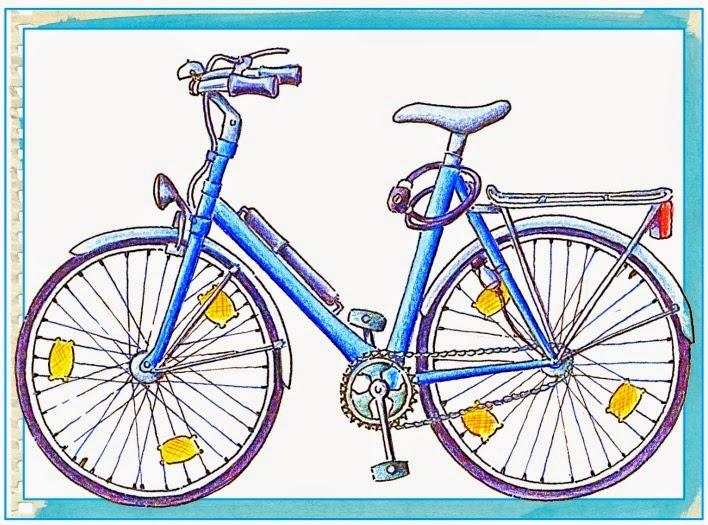 """ideenreise zusatzkärtchen zum legematerial """"fahrrad"""