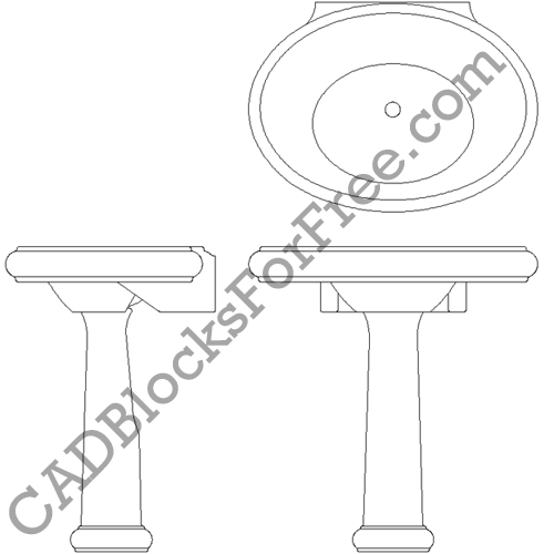 Bathroom Drawings Cad Images