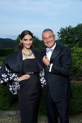 Sonam Kapoor at Bulgari launch event at Florence, Italy