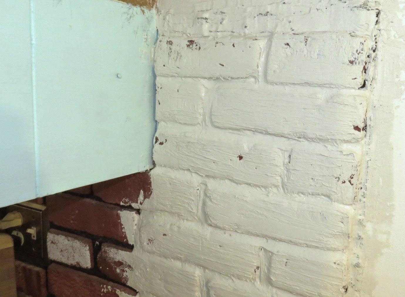 It Is Used For Mortaring And Brick And Patching It Is A Do It All Joint Compound We Covered The Entire Veneer With It And Made The Bricks A Little More