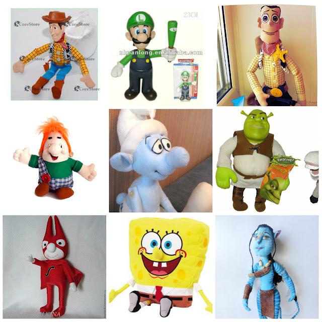 куклы и игрушки сказочные персрнажи герои мультфильмов