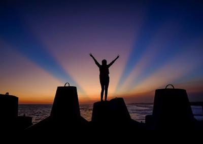 Kumpulan foto-foto indah sunset di pantai glagah