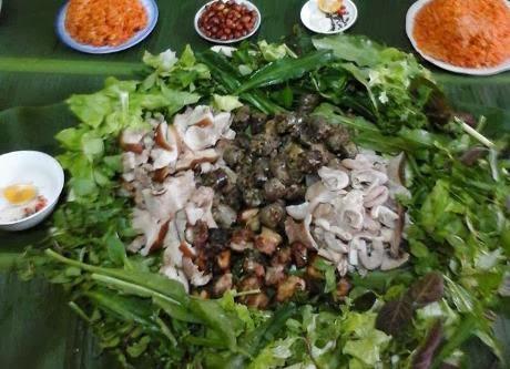 khám phá ẩm thực, ẩm thực việt, tin hoa ẩm thực, Mâm cỗ lá - Mộc mạc đậm hương vị sơn cước