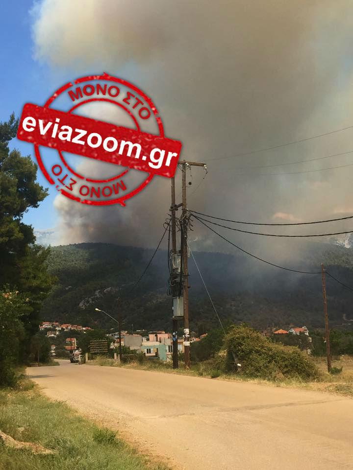 Συναγερμός στη Μακρυκάπα: Η φωτιά πλησιάζει κατοικημένη περιοχή - Δείτε ΦΩΤΟ